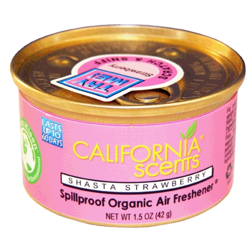 น้ำหอม California Scents กลิ่น Shasta Strawberry แบบกระป๋อง ขนาด 42 กรัม