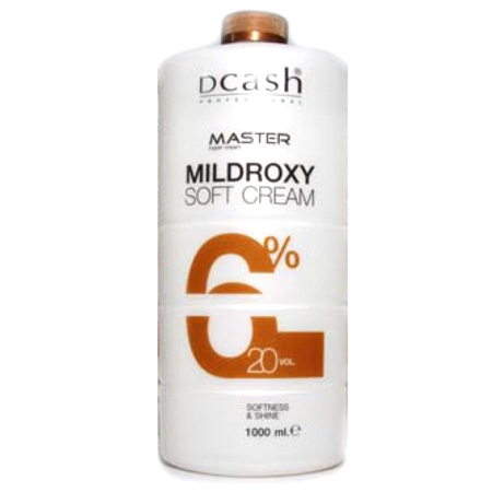 (ไฮโดรเจน) / ( Dcash Mildroxy Soft Cream) 6% 20 VOL.
