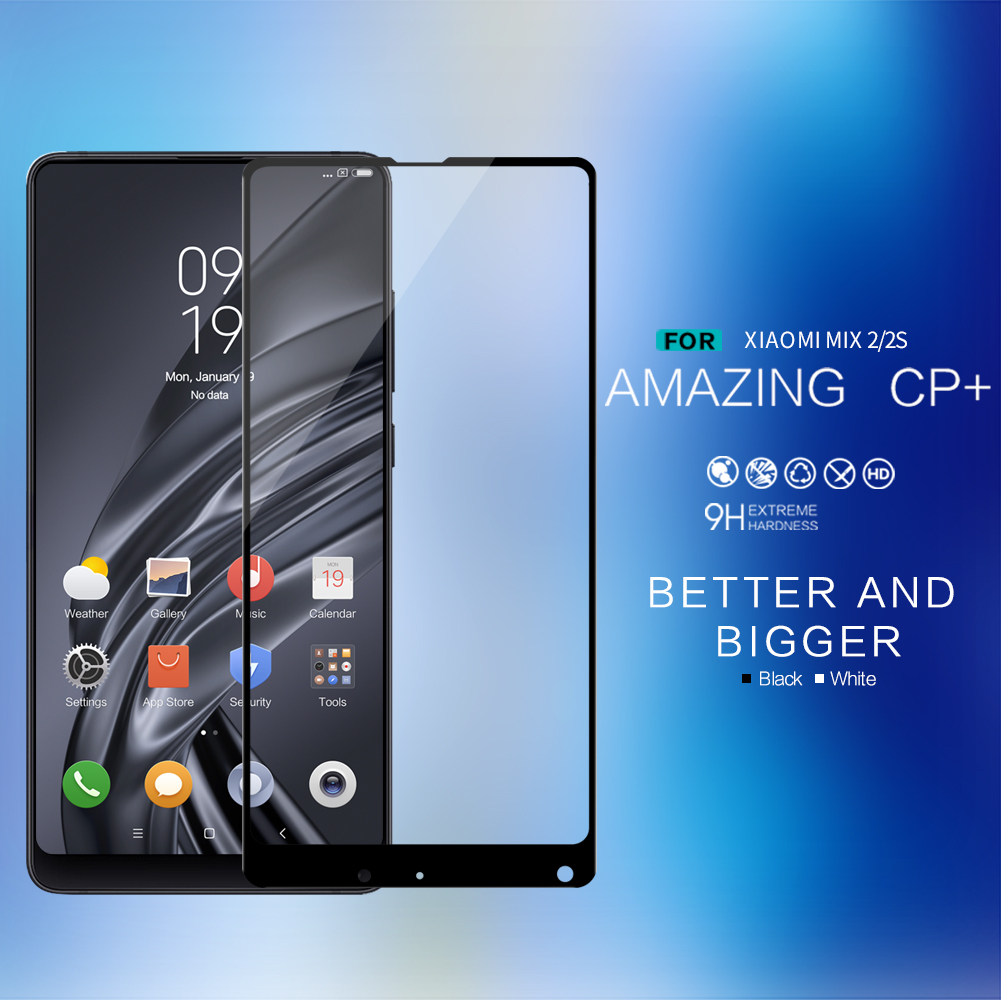 ฟิล์มกระจกนิรภัย Xiaomi Mi Mix 2 / Xiaomi Mi Mix 2S