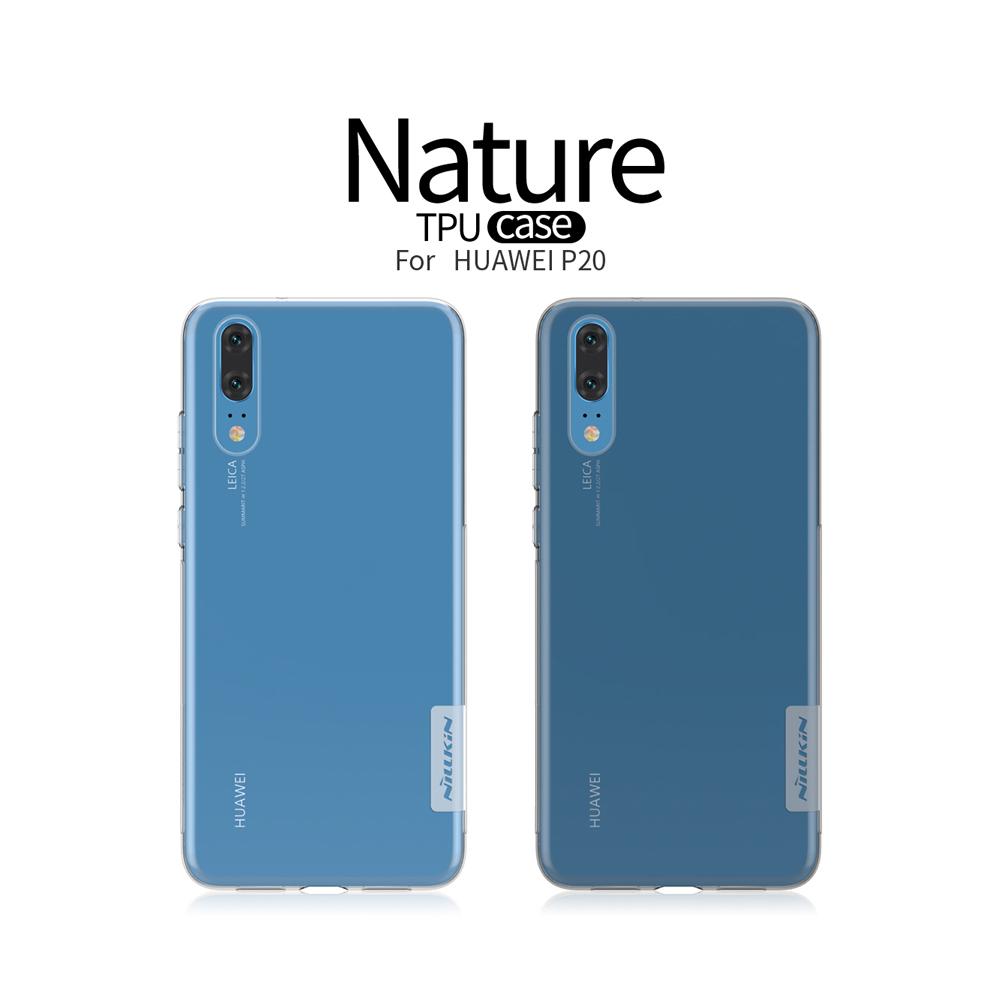 เคสมือถือ Huawei P20 รุ่น Nature TPU Case