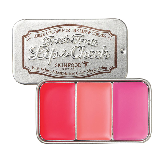 Skinfood Fresh Fruit Lip & Cheek 3 Color 7.5g [ No.2 ]