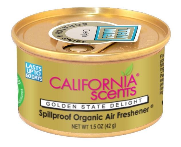 น้ำหอม California Scents กลิ่น Golden State Delight แบบกระป๋อง ขนาด 42 กรัม