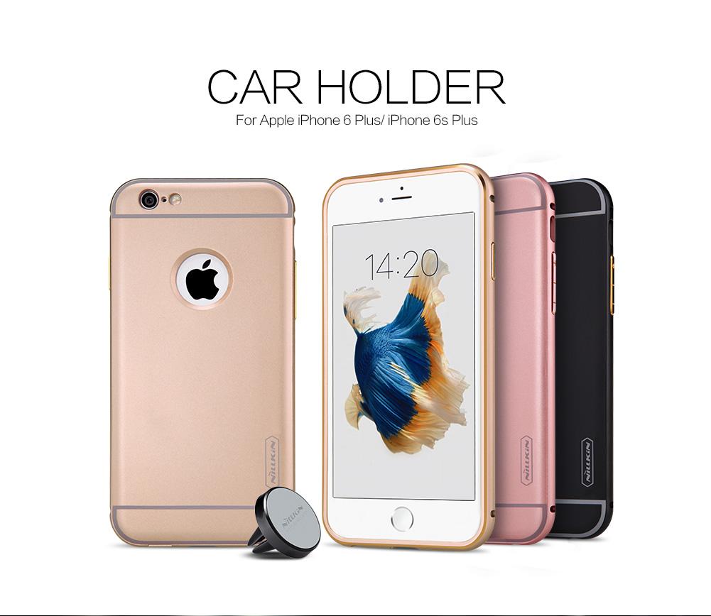 เคสมือถือ Apple iPhone 6 Plus/6S Plus รุ่น Car Holder Magnetic