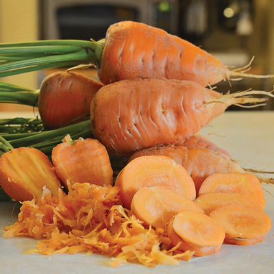 Oxheart Carrots (แครอทหัวใจ)