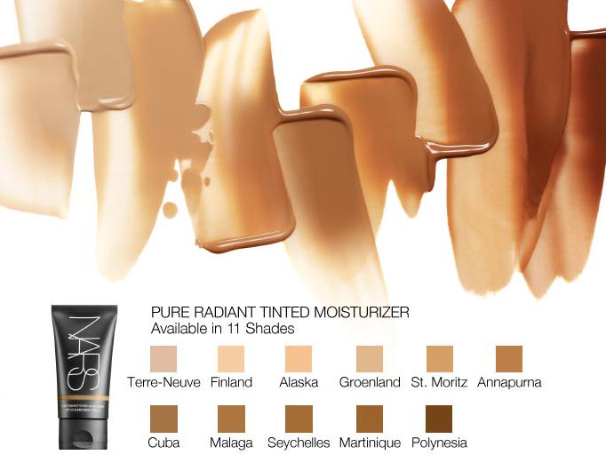 ผลการค้นหารูปภาพสำหรับ Nars Pure Radiant Tinted Moisturizer SPF30/PA+++