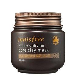 ++พร้อมส่ง++Innisfree Super Jeju Volcanic Pore Clay Mask โคลนมาส์กเนื้อเย็นสูตรพิเศษ ช่วยขจัดความมันส่วนเกิน สิวอุดตัน กระชับรูขุมขน ให้ความรู้สึกเย็นสดชื่น
