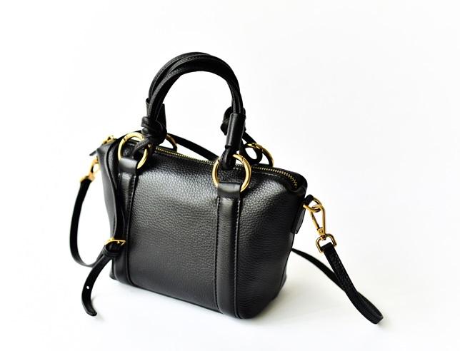 กระเป๋าหนัง รุ่น Lacole Bags Black