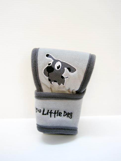 หุ้มหัวเกียร์ Little Dog ออโต้ (เทา)