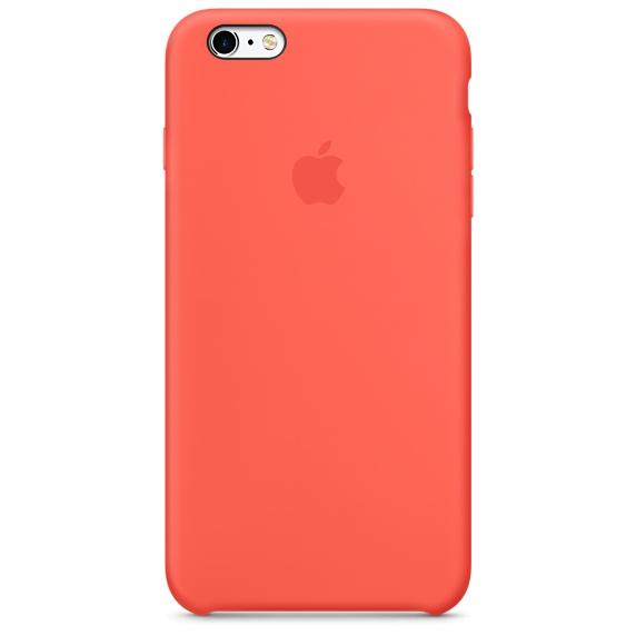 iPhone 6Plus,6SPlus Case -Pink , เคสซิลิโคน iPhone 6Plus,6SPlus - สีชมพู