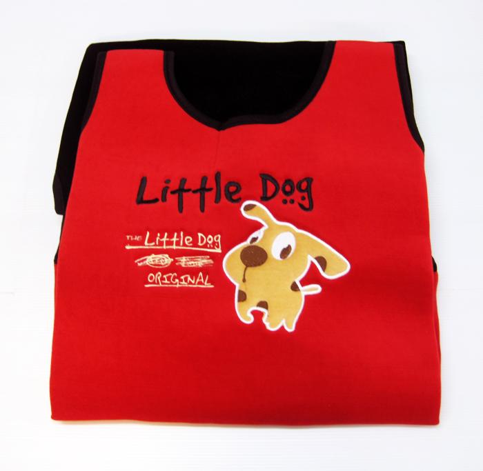 หุ้มเบาะ Little Dog (แดง)
