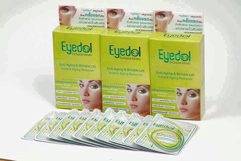 eyedol exclusive instant กัน อายครีมดีๆที่เน้นคุณภาพ ปลอดภัยล้านเปอร์เซ็นต์eyedol exclusive instant กัน อายครีมดีๆที่เน้นคุณภาพ บรรจุ 10 ซอง