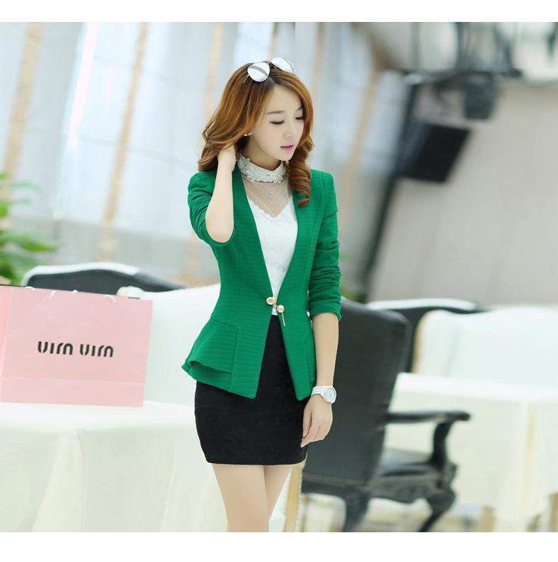 เสื้อสูทสวยๆ สีเขียว