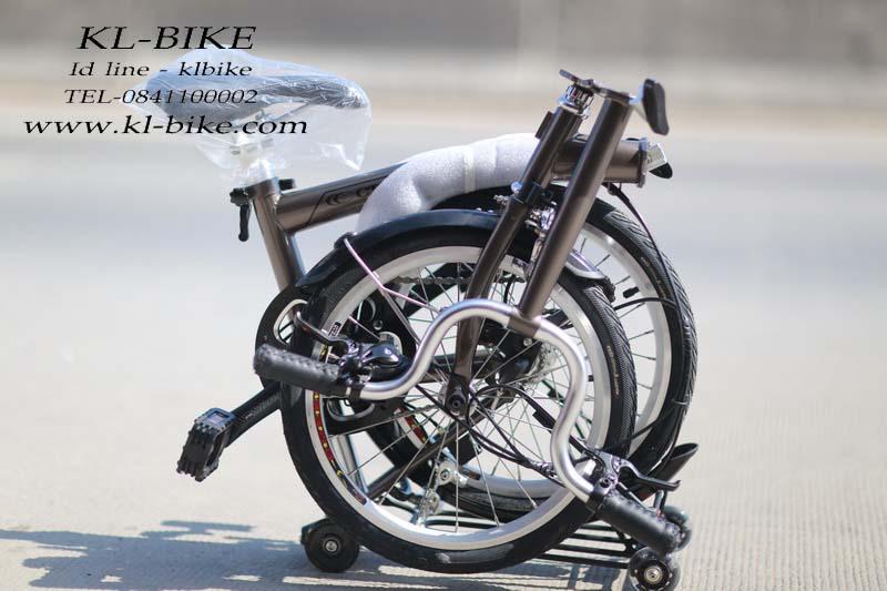 จักรยานพับได้ Gigna 16 นิ้ว
