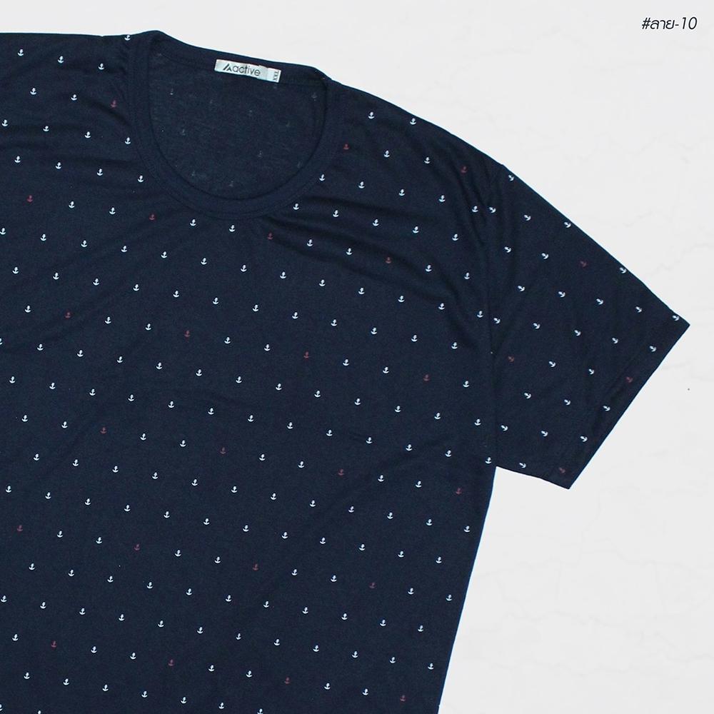 เสื้อยืดลาย-10 2XL 3XL 4XL