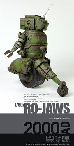 ThreeA 2000AD abc warriors Ro-Jaws