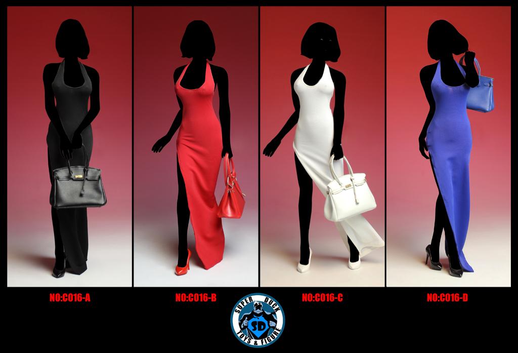 SUPER DUCK C016 1/6 Dresses and handbag set