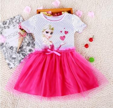 Pre-order ชุดเอลซ่า / Size 100 / Pink