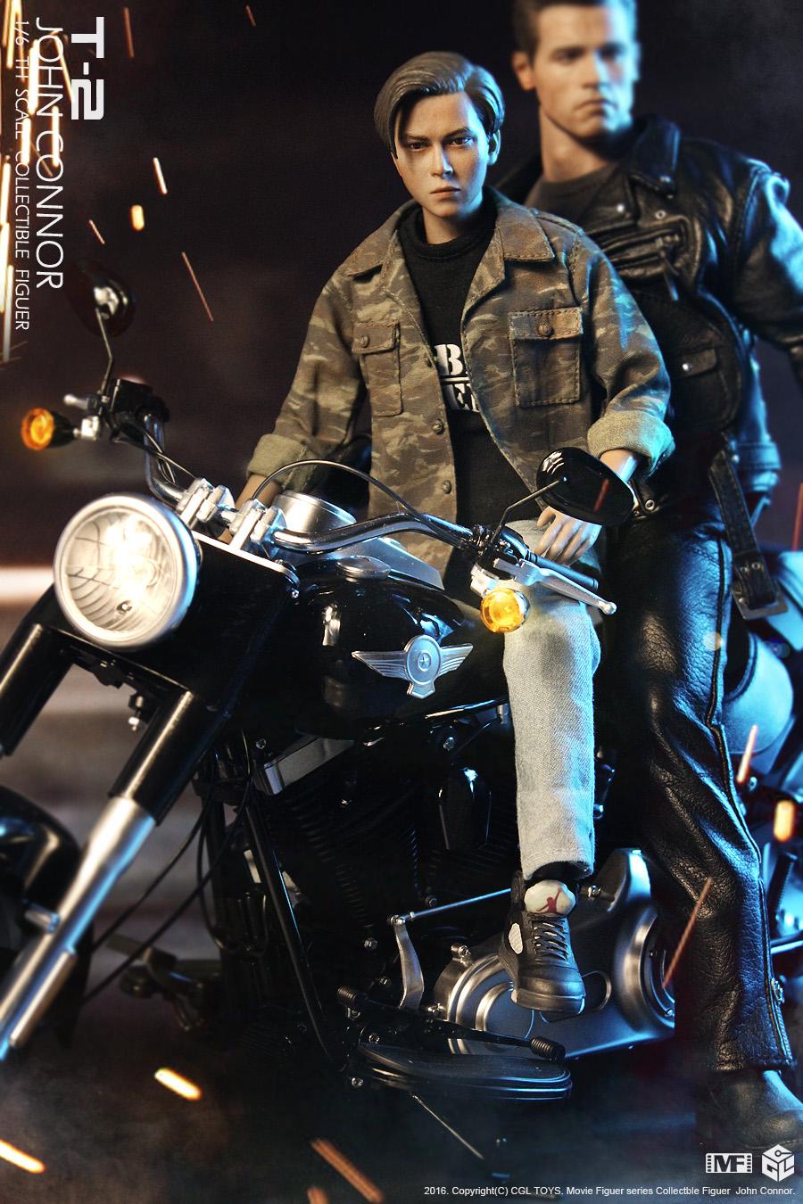 CGL TOYS MF10 Terminator 2 - leader teenager Connor
