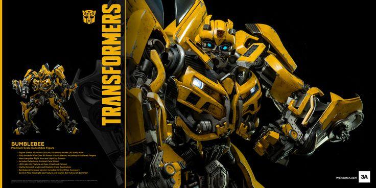 ThreeA Transformers: Dark of the Moon - Bumblebee