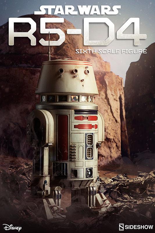 SIDESHOW Star Wars Episode IV: A New Hope - R5-D4