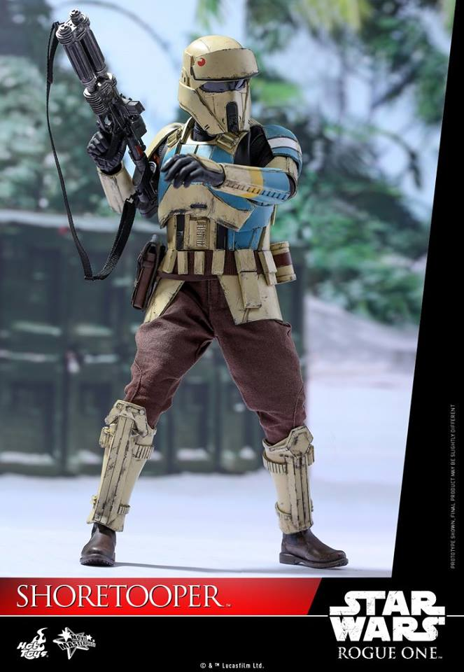 Hot Toys MMS389 ROGUE ONE: A STAR WARS STORY - SHORETROOPER