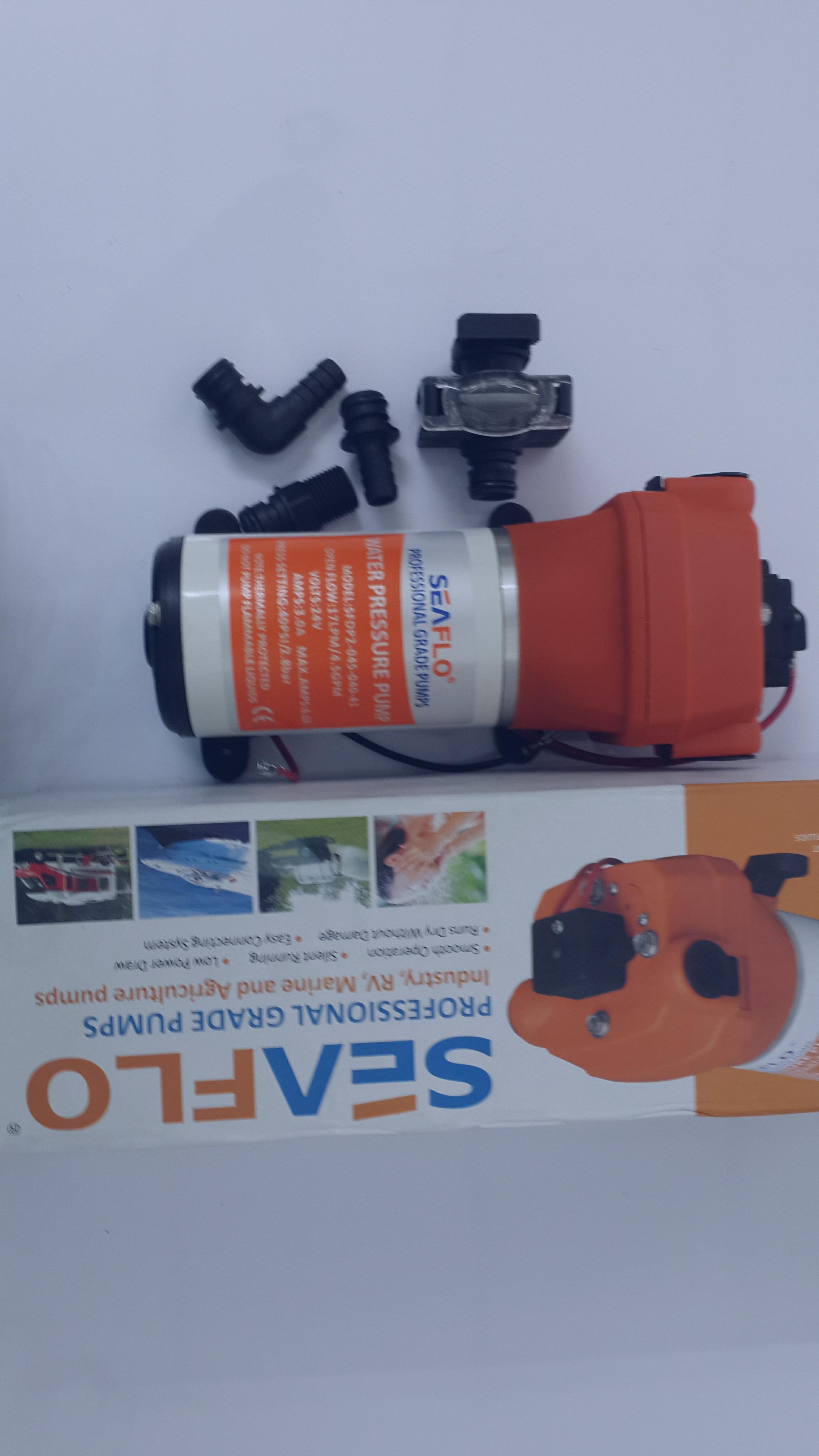 ปั๊มน้ำ 24V/3A/40PSI