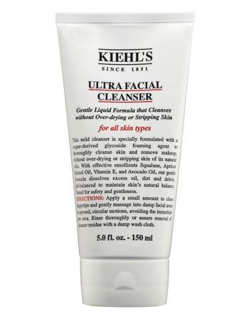 **พร้อมส่ง**Kiehl's Ultra Facial Cleanser 150.ml. โฟมทำความสะอาดผิวหน้าอย่างอ่อนโยนเป็นพิเศษ สำหรับทุกสภาพผิว ล้างเครื่องสำอางออกได้อย่างหมดจด โดยไม่ทำให้ผิวแห้งตึงและไม่ทำลายน้ำมันตามธรรมชาติของผิว สูตรเฉพาะมีส่วนผสมของ glycoside foaming agent ด้วยส