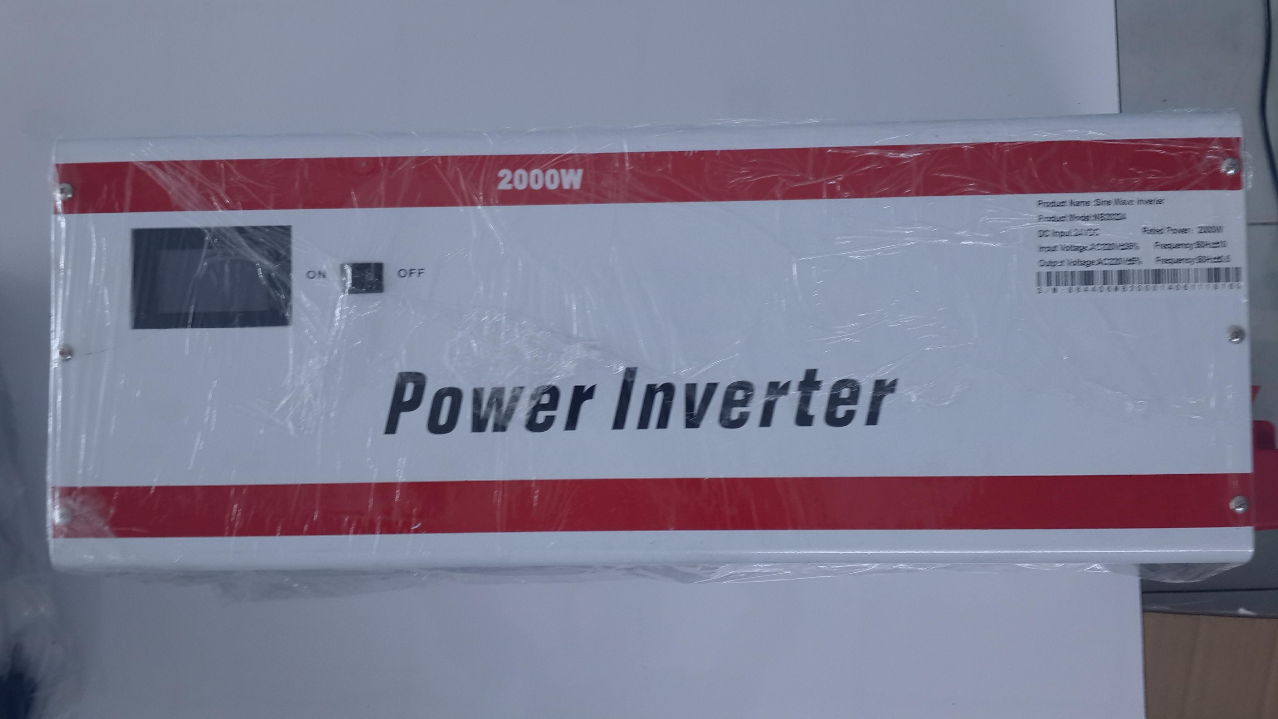 Pure Sine Wave Inverter 2000W/24V/IR