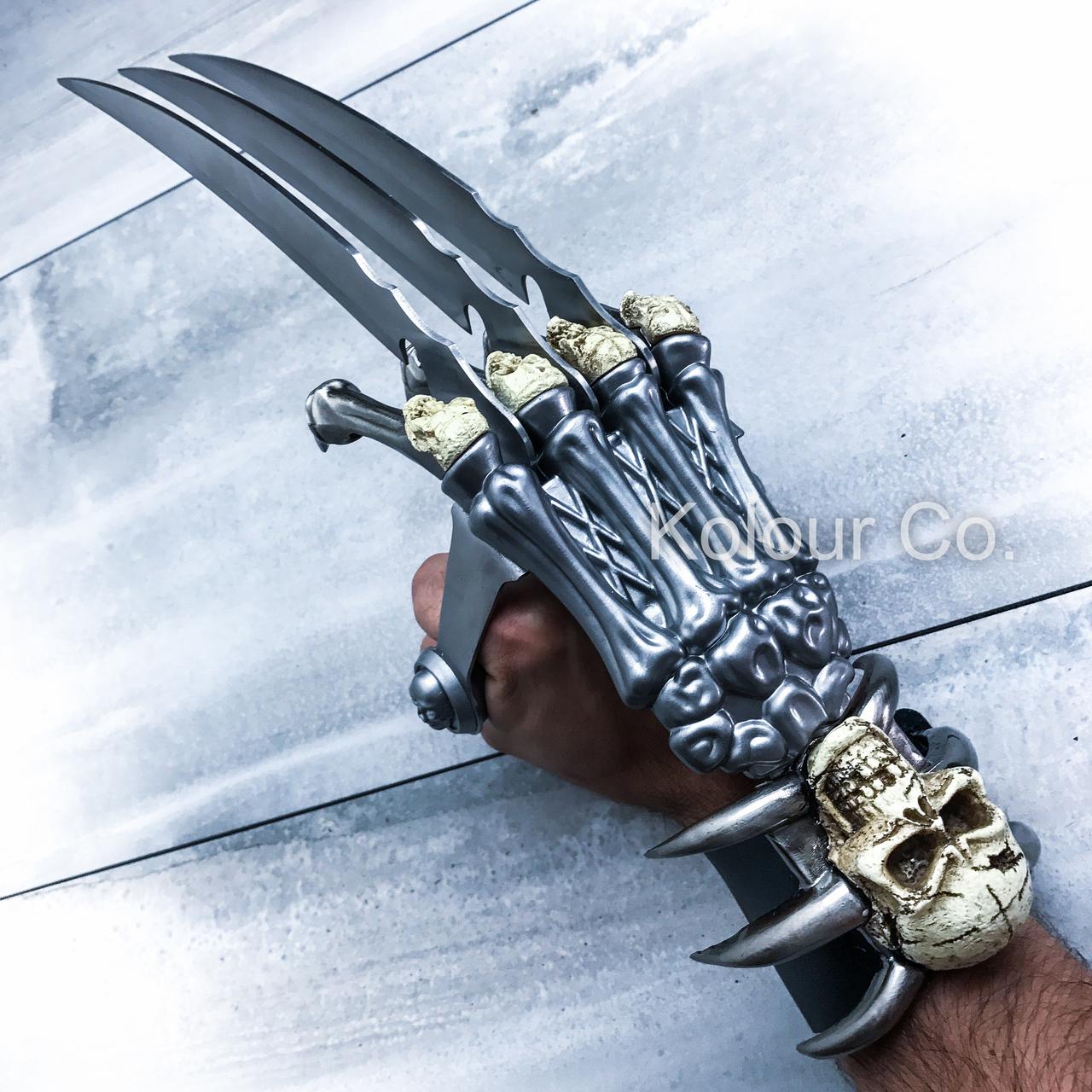กรงเล็บวูล์ฟเวอรีน King kong ghost wolverine claws