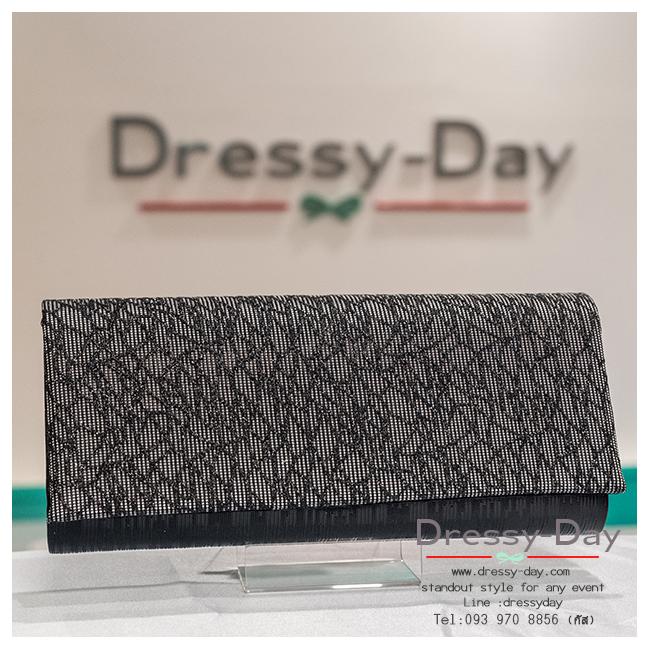 กระเป๋าออกงาน TE027: กระเป๋าออกงานพร้อมส่ง สีดำ โรยกากเพชรสุดหรู ราคาถูกกว่าห้าง ถือออกงาน หรือ สะพายออกงาน สวย หรู ดูดีมากค่ะ