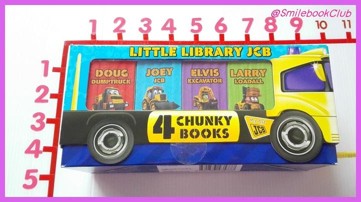 Little Library JCB 4 Chunky Books