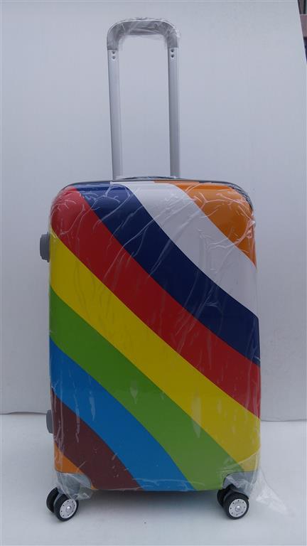 กระเป๋าเดินทาง ขนาด 20 นิ้ว ลายสายรุ้ง สีสวย