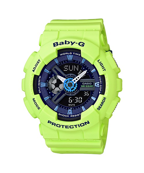 Casio Baby-G Punching Pattern series รุ่น BA-110PP-3A