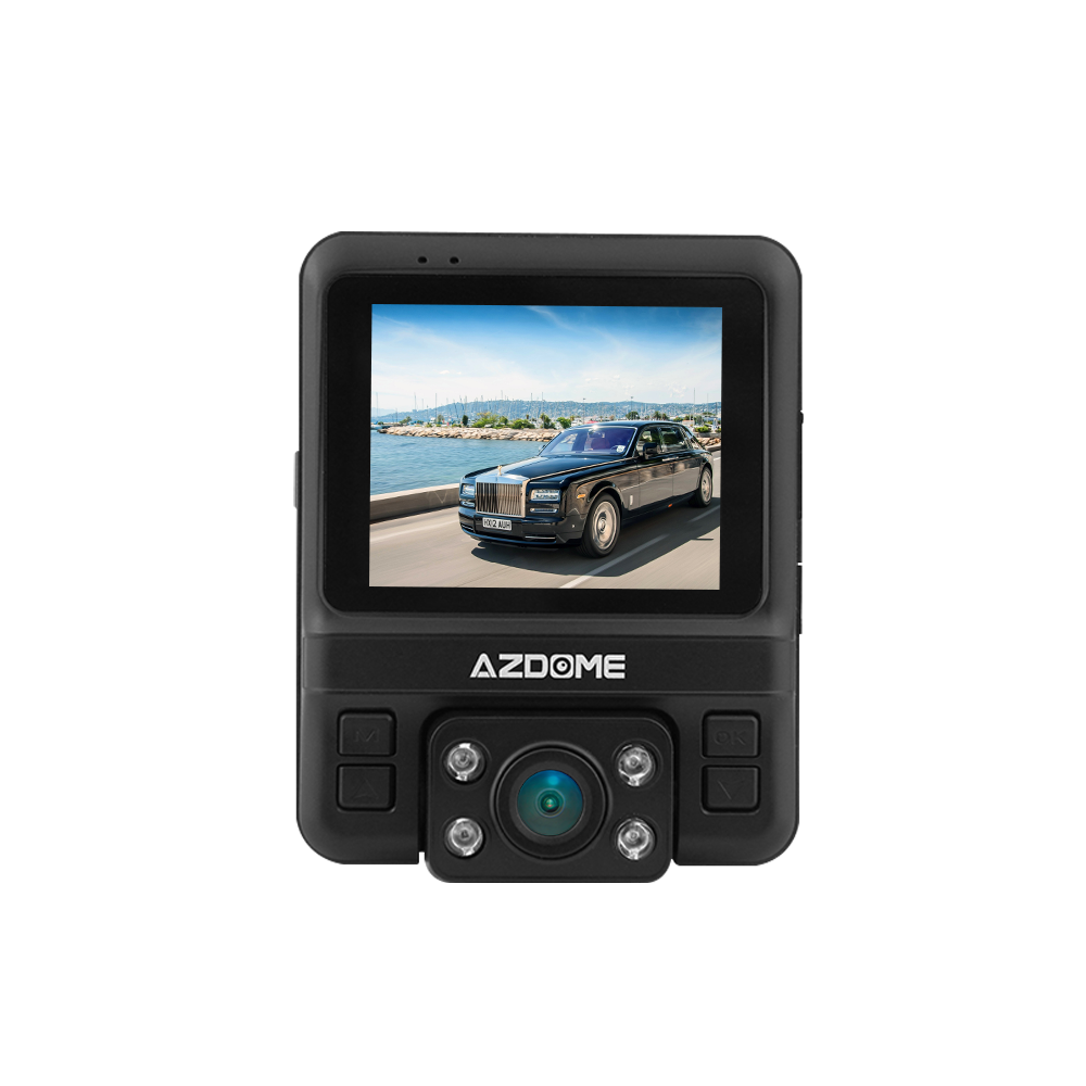 กล้องติดรถยนต์ AZDOME รุ่น GS65H (กล้องหน้า-หลัง, built-in GPS)