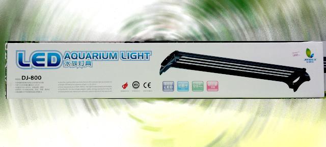 โคมพาด led 80-100cm โคมสีดำ ตู้36นิ้ว