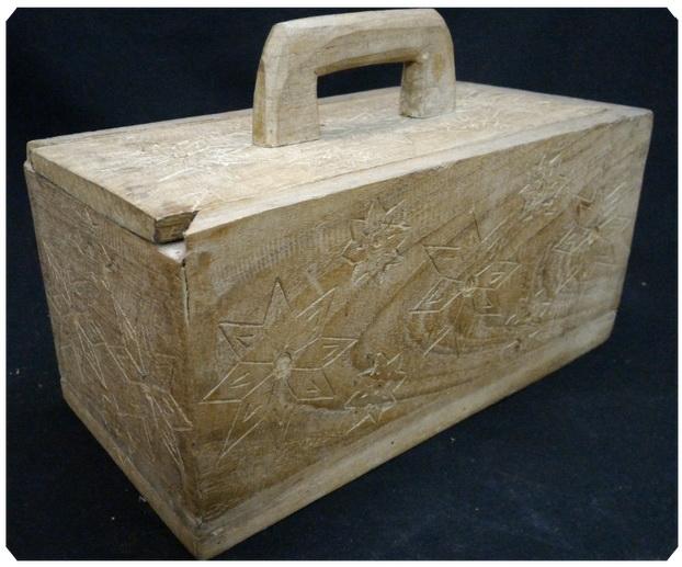 กล่องไม้สัก ฝาเลื่อนเปิด 13x26 cm.
