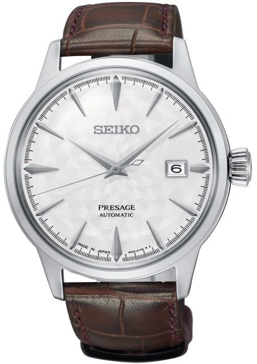 นาฬิกาผู้ชาย Seiko รุ่น SRPC03J1, PRESAGE Cocktail Sakura Hubuki Limited Edition 3500pcs