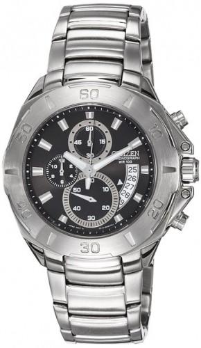 นาฬิกาข้อมือผู้ชาย Citizen รุ่น AN3400-58E, Quartz Chronograph 100m Sports