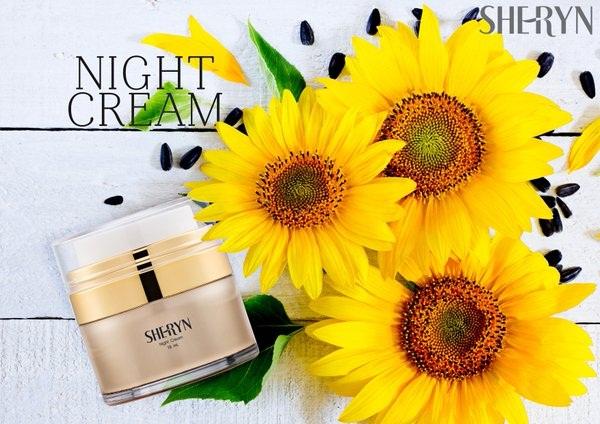 ครีมบำรุงผิวหน้า-กลางคืน Sheryn Firming Night Cream 15 ml.