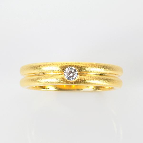 แหวนพลอยแท้ แหวนเงิน925 พลอยขาว (ไวท์โทปาส) ชุบทองคำแท้