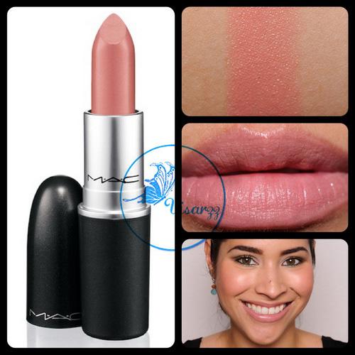 MAC Cremesheen Lipstick 3g # Pure Zen ลิปสติกโทนชมพูอมส้มนู้ดๆ