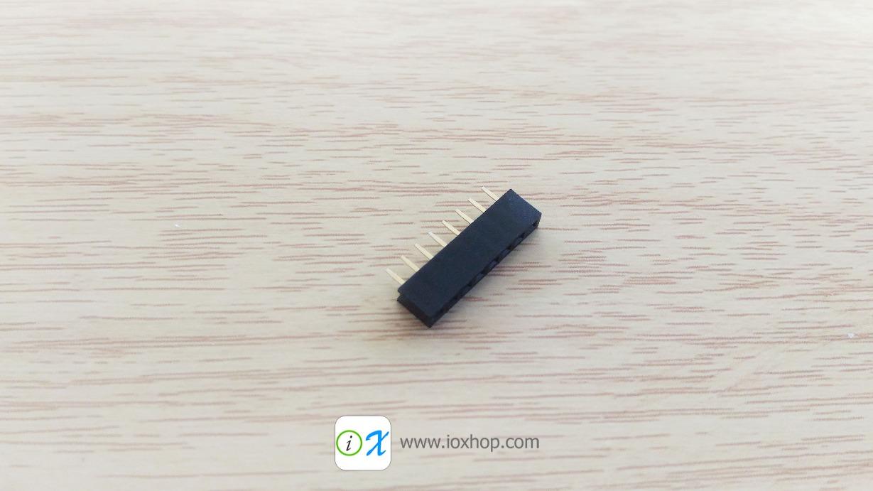 2mm 8 Pin Female Single Row Header