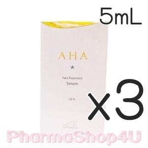 (ซื้อ3 ราคาพิเศษ) Maxkin AHA Face Treatment Serum 10% 5mL เซรั่มปรับสภาพผิวจากเอเอชเอธรรมชาติบริสุทธิ์ ซึมเข้าสู่ผิวอย่างรวดเร็ว ตรงจุด