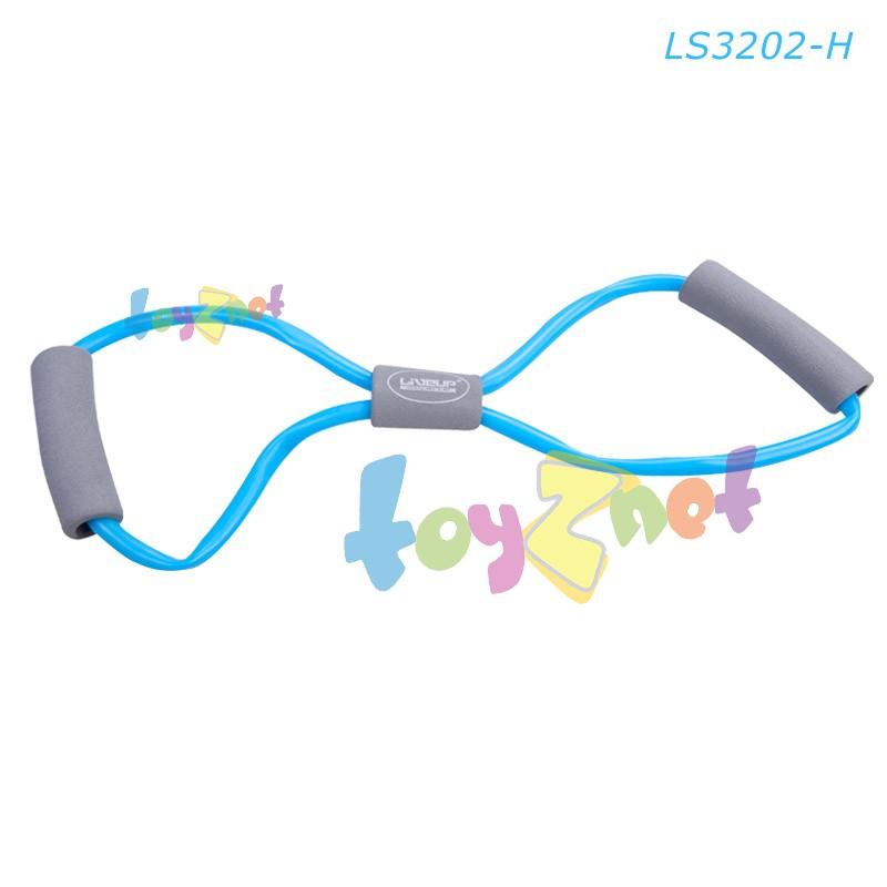 Liveup ยางยืดออกกำลังกาย ระดับหนัก (สีฟ้า) LS3202-H