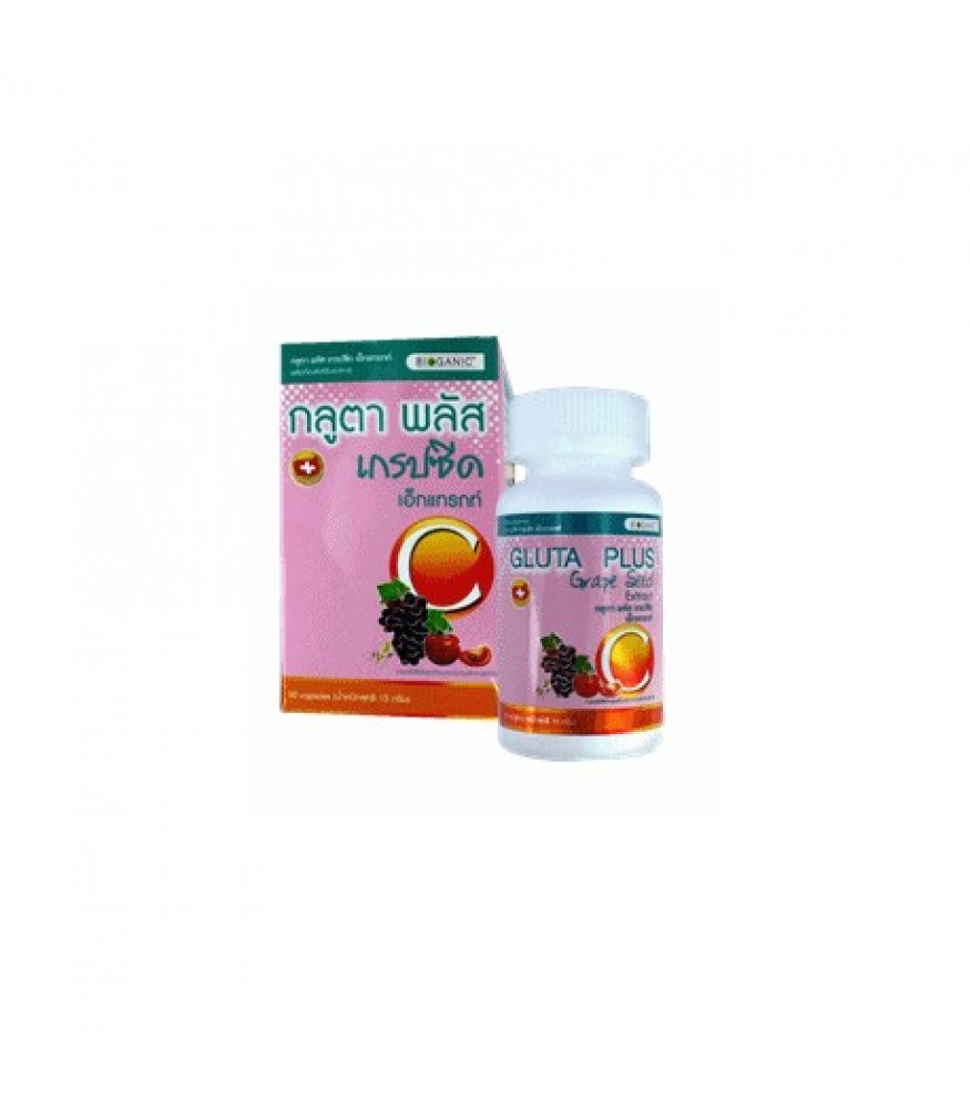 BIOGROW GLUTA PLUS GRAPE SEED EXTRACT C 30s