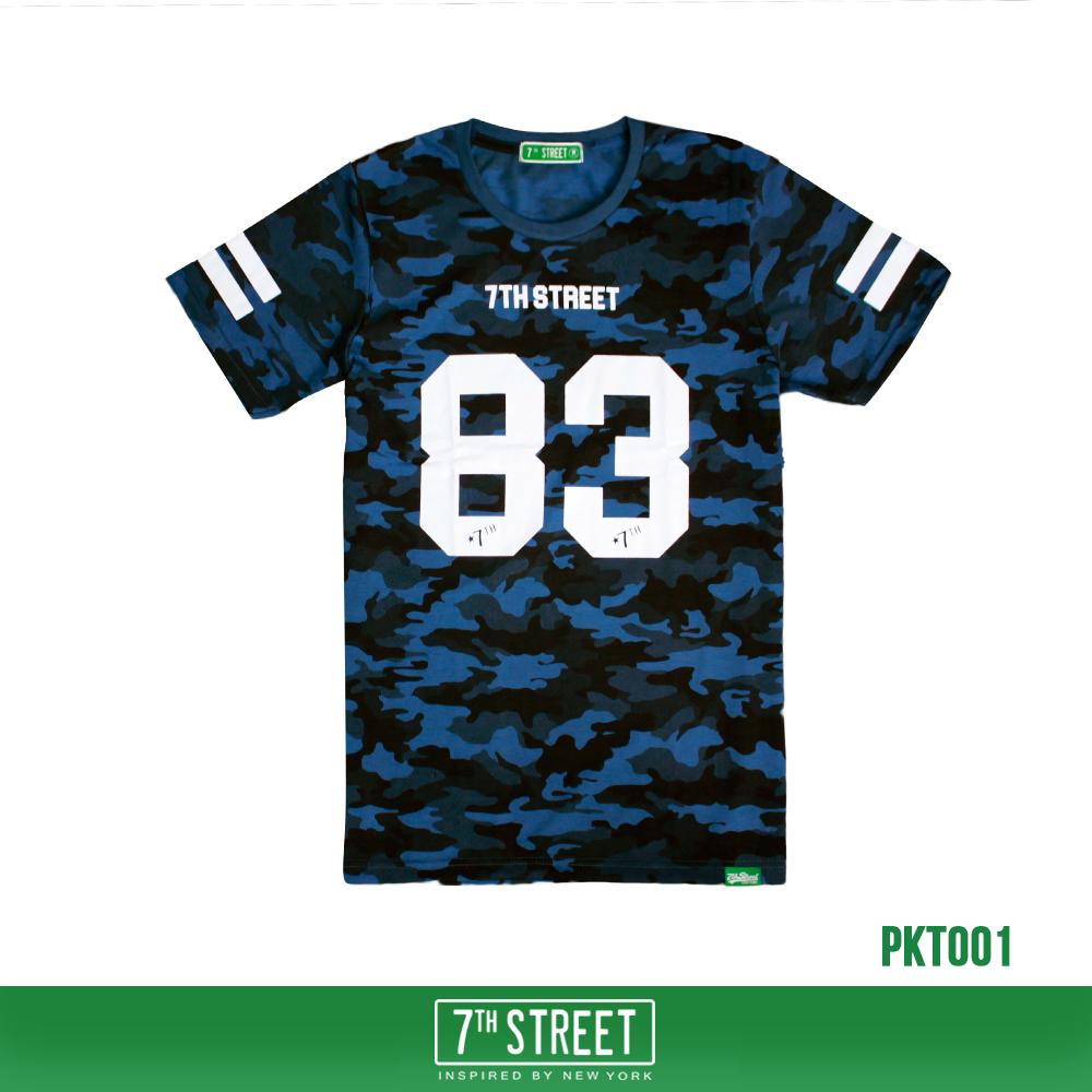 เสื้อยืด 7TH STREET - 7TH STREET 83 BLUE SOLDIER