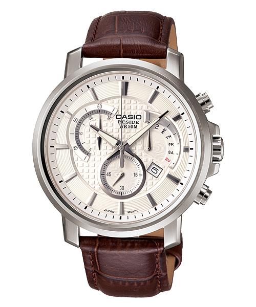 นาฬิกา คาสิโอ Casio BESIDE CHRONOGRAPH รุ่น BEM-506L-7AV