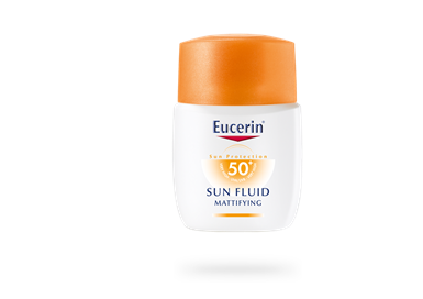 EUCERIN SUN FLUID MATTIFYING FACE SPF 50+ (50 มล.)