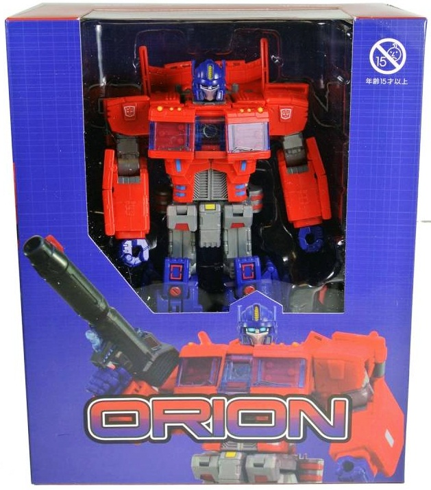 Transformers 3rd Party ToyWorld - TW-02 Orion Pax ( IDW Opttimus Prime )