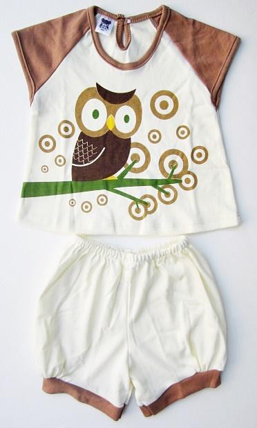 ชุดเสื้อ+กางเกงขาสั้น (size L 6-9 เดือน)